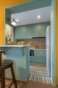 50平米小户型东南亚风格厨房图片