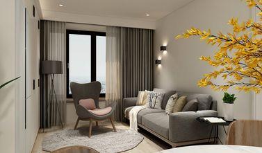 110平米复式日式风格客厅装修图片大全