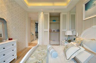80平米三室两厅地中海风格卧室装修效果图