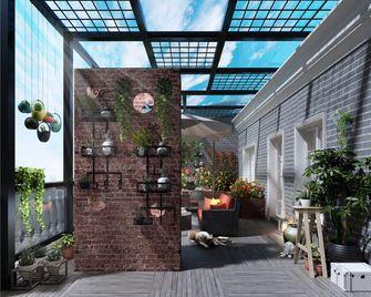 140平米别墅美式风格阳光房图片大全