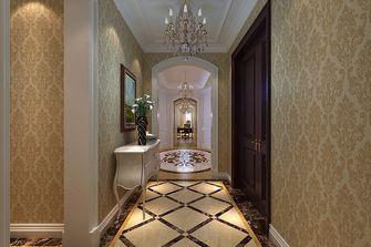 140平米四室三厅美式风格玄关图片