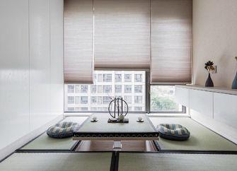 140平米三室一厅日式风格阳台图片