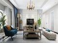 140平米三室五厅现代简约风格客厅装修效果图