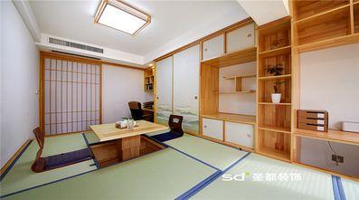 80平米三室两厅日式风格储藏室设计图