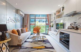 50平米田园风格客厅设计图