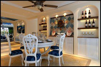 140平米三地中海风格餐厅装修图片大全
