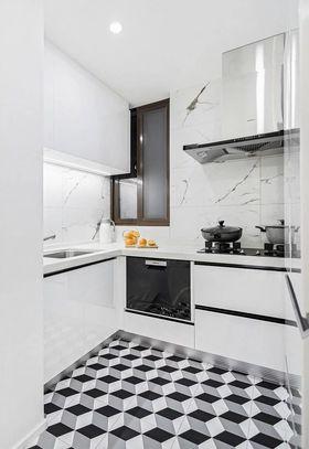 80平米三室兩廳北歐風格廚房裝修效果圖