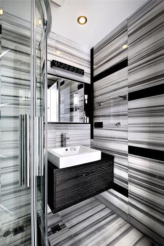 130平米三室两厅英伦风格卫生间效果图