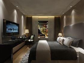 富裕型70平米现代简约风格卧室图片大全