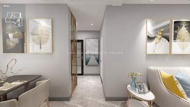 120平米三室两厅现代简约风格走廊欣赏图