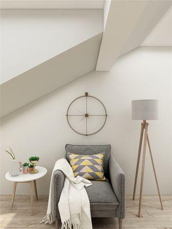 140平米三室两厅现代简约风格阁楼装修案例