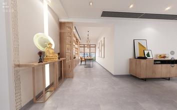 130平米三室两厅日式风格玄关设计图