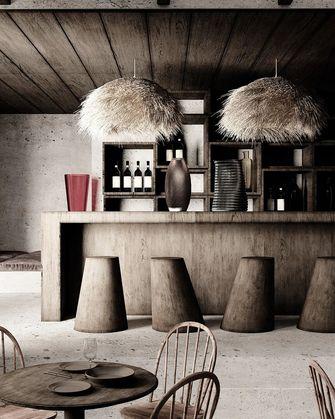 100平米日式风格餐厅图片