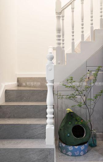 100平米复式美式风格楼梯间图片