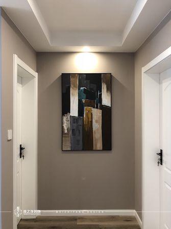 豪华型60平米三室一厅现代简约风格走廊图片大全