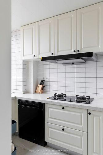80平米三室一厅混搭风格厨房欣赏图