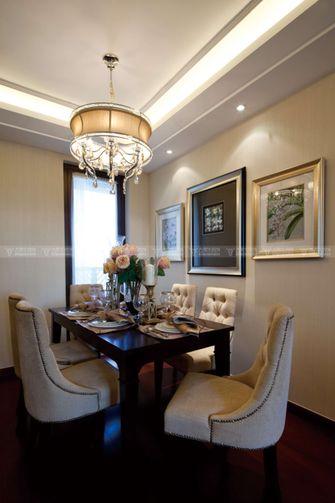 豪华型140平米复式欧式风格餐厅设计图
