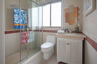 140平米一室一厅地中海风格卫生间图