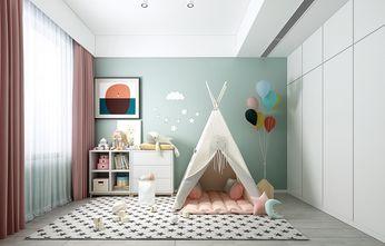 140平米复式中式风格儿童房图