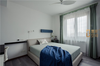 140平米三室两厅现代简约风格儿童房图片