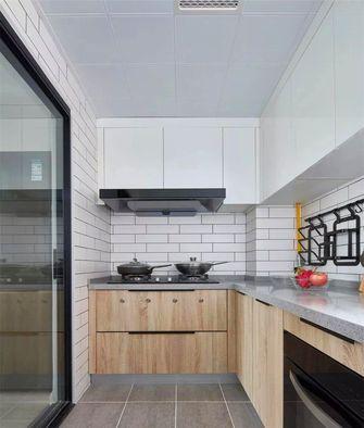 100平米三室一厅北欧风格厨房装修效果图