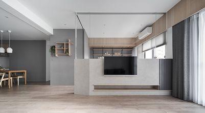 100平米三室一厅北欧风格客厅效果图
