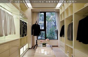 20万以上140平米别墅新古典风格衣帽间鞋柜图