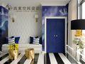 140平米别墅东南亚风格儿童房装修图片大全