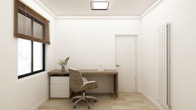 80平米三室一厅日式风格书房欣赏图