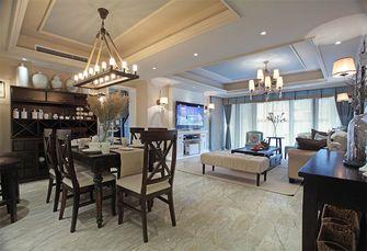 110平米三室两厅美式风格餐厅装修案例