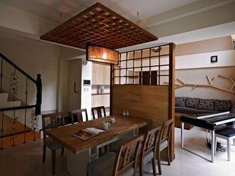 140平米四室三厅日式风格餐厅图