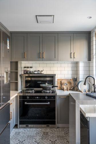 60平米三北欧风格厨房图