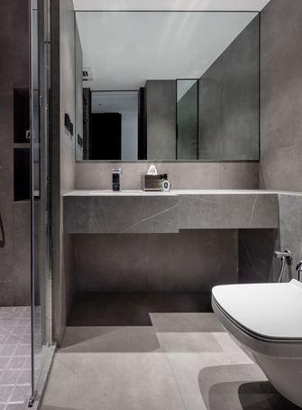 120平米三室一厅现代简约风格卫生间欣赏图