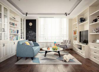 140平米复式美式风格儿童房图片