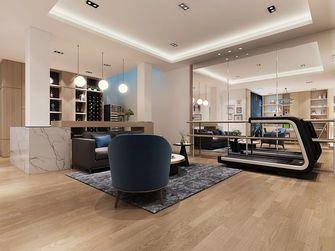 110平米三室一厅混搭风格健身室装修案例