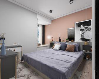60平米一室一厅混搭风格卧室装修图片大全