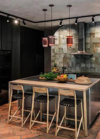 140平米别墅田园风格餐厅设计图