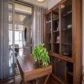130平米三室三厅中式风格书房设计图