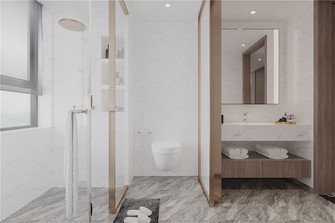 140平米四室两厅中式风格卫生间设计图