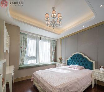 140平米三室两厅混搭风格儿童房欣赏图