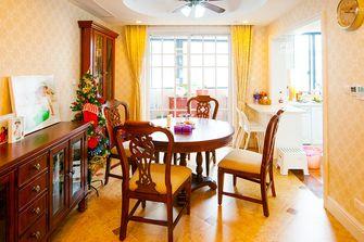 140平米四室两厅田园风格餐厅装修效果图