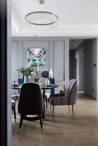 130平米别墅美式风格餐厅欣赏图
