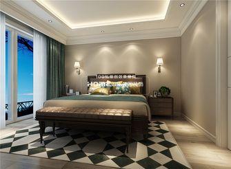 140平米复式美式风格卧室图片