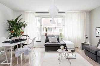 50平米一居室北欧风格客厅效果图