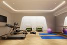 140平米别墅宜家风格健身室图片