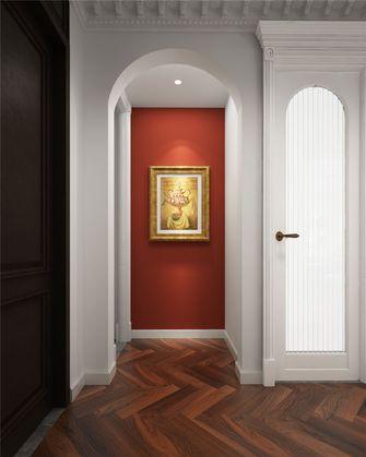 80平米三室一厅法式风格玄关设计图