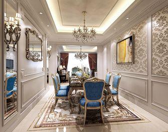 豪华型140平米一室两厅欧式风格餐厅装修案例