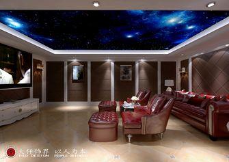 140平米四室四厅欧式风格影音室设计图