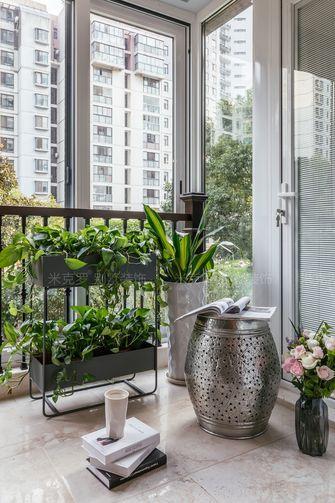 140平米四室两厅东南亚风格阳台装修效果图