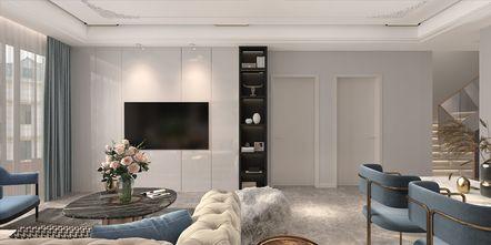 110平米复式法式风格客厅图片大全